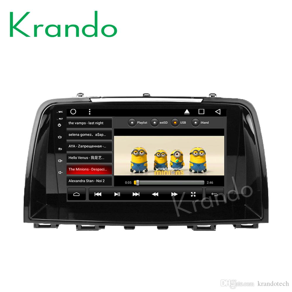 "Krando Android 8.1 9"" Full touch car Multimedia player for Mazda CX-5 2012- 2016 navigation system radio player gps wifi BT car dvd"