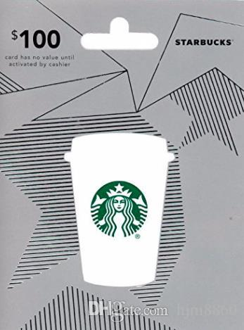 Hot Sale 100 Starbucks Gift Card