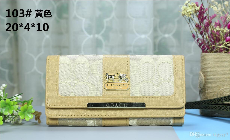 757f6f4abd5 Men Women Wallet COACH Fashion Clutch Wallet Portafoglio Wallets Holders High  Quality Designer Purse Pu Billetera Leather Wallet Womens Wallets Cool  Wallets ...