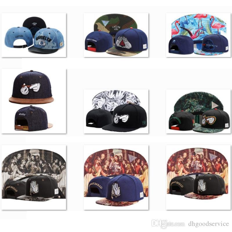 e433c72482e5 CAYLER   SONS Snapbacks Baseball Caps Summer 2019 Cheap Baseball Hats Ovo  Cool Snapback Hats Men S Designer Dad Caps Adult Trucker Caps CS25  Embroidered ...
