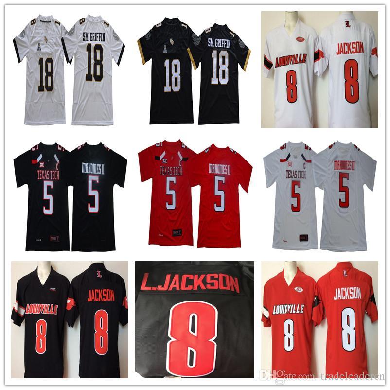 Louisville 8 Lamar Jackson Washington Huskies Texas Tech 5 Patrick ... ee5e992fb