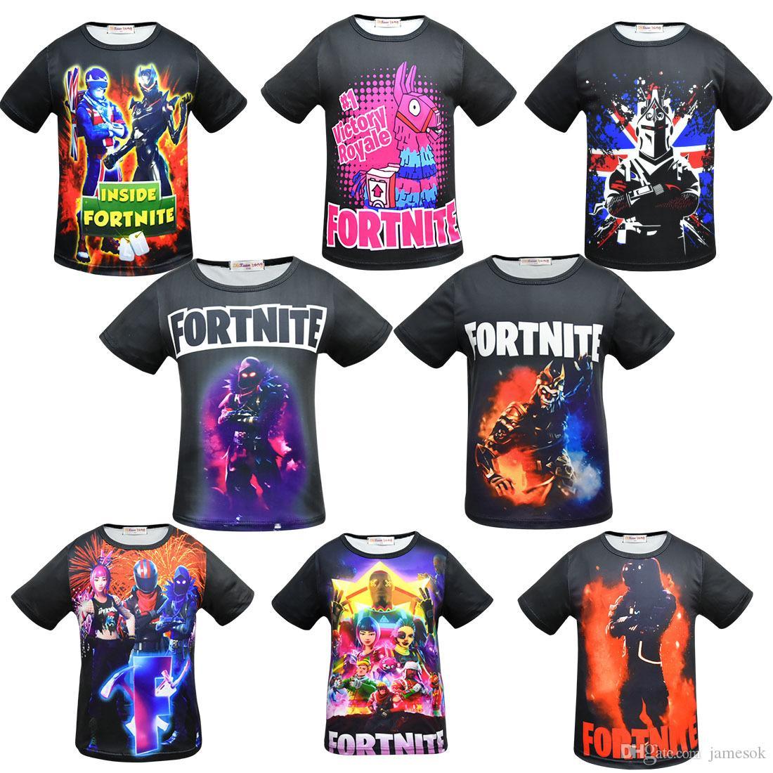 T Fortnite 8 Ragazzi Bambini Shirt Ragazze Acquista Nuovi Stile nwO08Pk