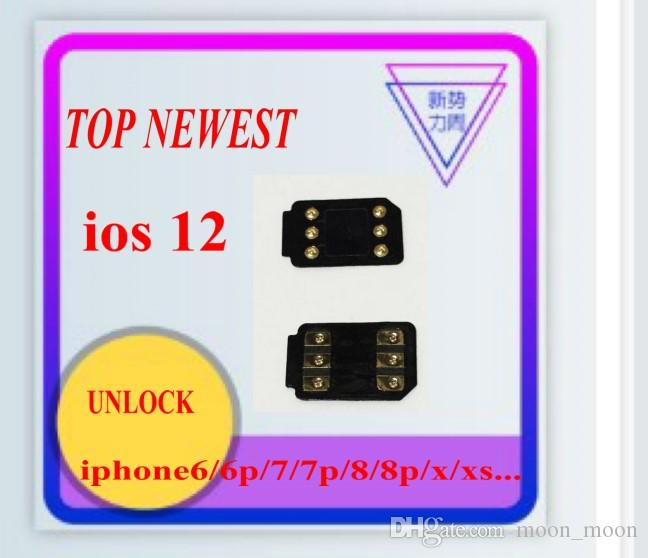 2019 Perfect BLACK CHIP MKSD ICCID Unlock iphonexs ios12 ios12 x iphone xs  x 6/6p/7/7p/8/8p Turbo sim card