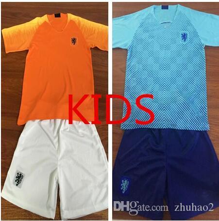 43d1e7caf 2019 2018 19 Nederland Soccer Jersey KIDS Netherlands Home Away Orange MEMPHIS  JERSEY ROBBEN 18 19 V.Persie Football Shirts Holland Uniforms From Zhuhao2,  ...