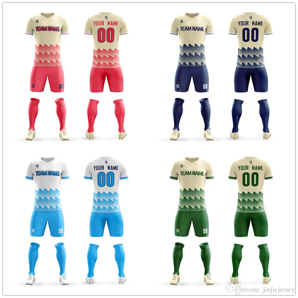 e8e48431d 2019 2019 Top Quality Sublimation Unisex Sportswear Design Your Soccer  Uniforms Soccer Jersey Shirts Sets From Jiejiejersey, $23.36 | DHgate.Com
