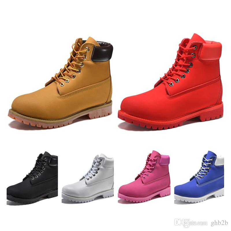 Winter Boots Women Men Designer Sports Red White Sneaker TBL Casual Trainer Mens Womens Luxury ACE Boot Size 36-46