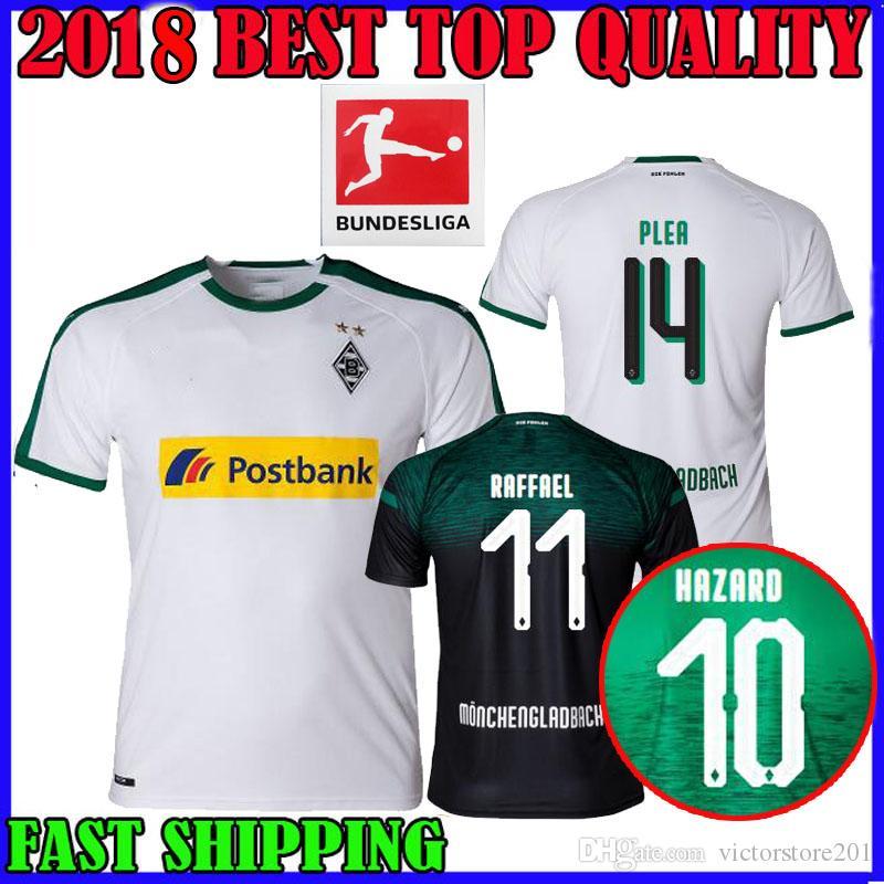 Compre 18 19 Borussia Monchengladbach Camisa De Futebol Em Casa Fora De  Terceiro 2018 2019 PLEA STINDL RAFFAEL Perigo DRMIC GIMTER CAMISAS DE  FUTEBOL TOP ... 2aea6248012