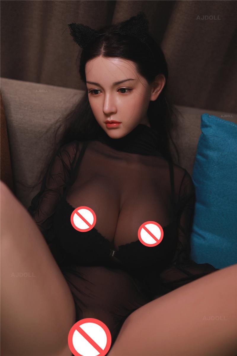 Ajdoll Real TPE Sinicone Sex Poupées Adulte Japonais Love Poupées Lifelike Anime Dolls Oral Poupées Full Pussy Big Sein