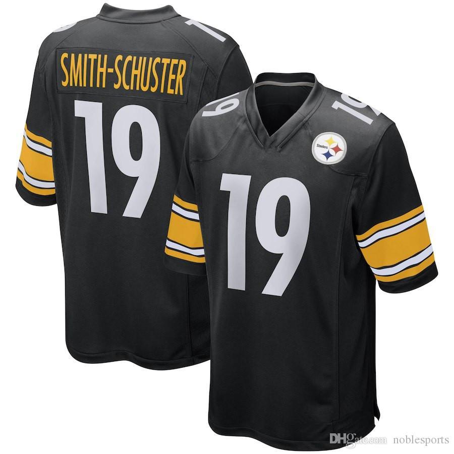 Juju Villanueva T 19 j Antonio Smith-schuster 90 Conner 50 78 7 Steelers Pittsburgh Jerseys Shazier Brown 84 30 Ben Watt
