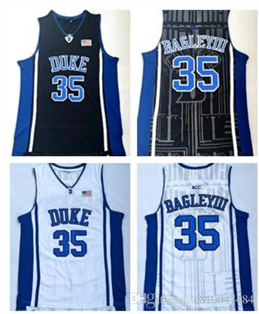 separation shoes b7a77 59d81 Duke Blue Devils NCAA #35 Bagley III Home Adult Jersey College 3 Grayson  Allen White Black Blue College Basketball Jerseys Shirt S-3XL