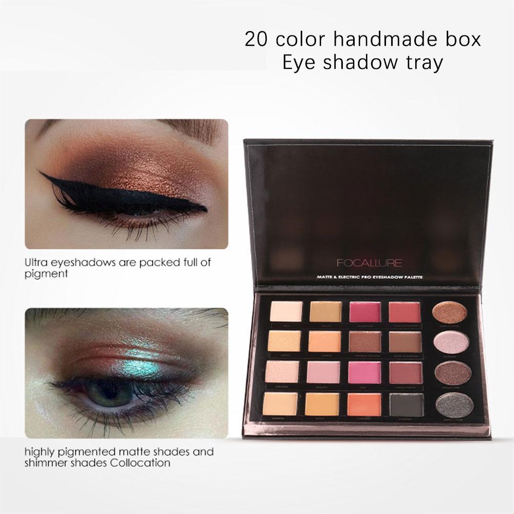 Beauty Essentials Beauty Glazed 12 Colors Eyeshadow Palette Shimmer Waterproof Metallic Matte Eye Shadow Powder Professional Glitter Shadow Kit