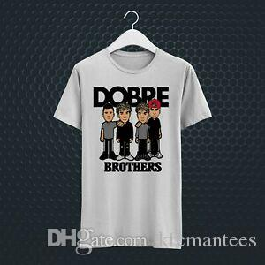 DOBRE BROTHERS MUSIC VLOG YOUTUBE DIVERTENTE T-SHIRT UNISEX TEE BIANCO VV46
