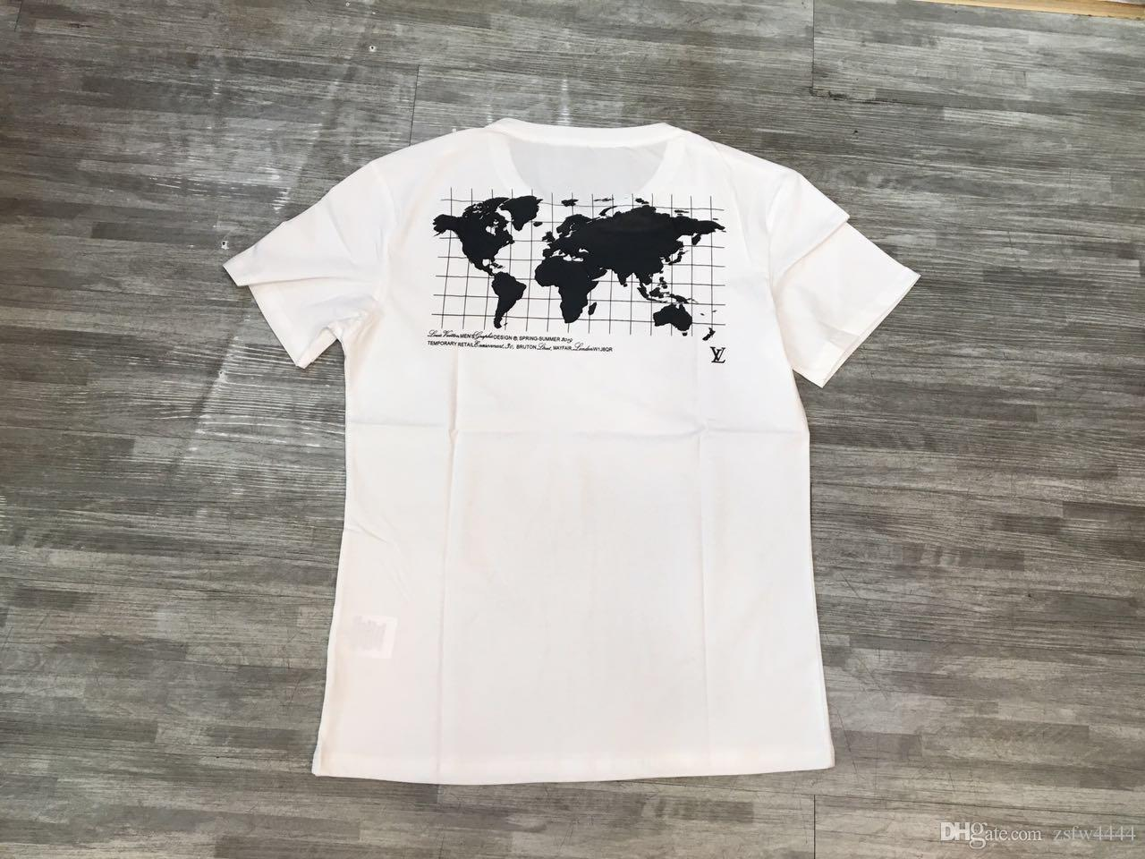 1002 2019ss Roma Paris Men designer T shirt brand clothing fashion casual summer women T-shirt high quality Hip Hop Top Tees