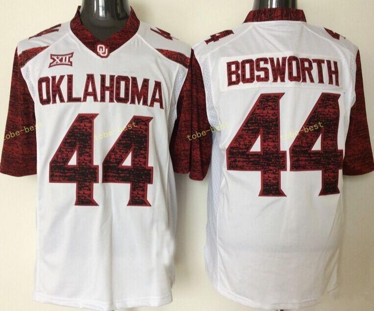 Rose Bowl Patch Oklahoma Sooners 6 Baker Mayfield 44 Brian Bosworth 28  Adrian Peterson 14 Sam Bradford College Football Jerseys Stitched Online  with ... 86e2164b7