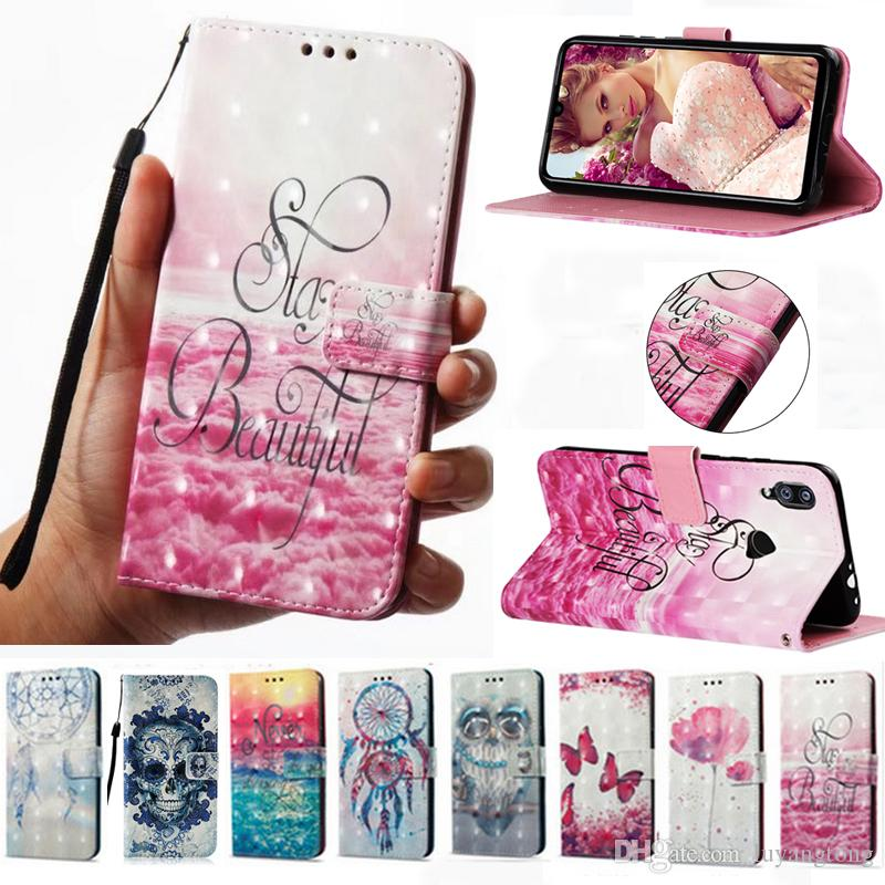 reputable site ec139 1dfab Flip Phone Cover For Xiaomi Redmi Note 7 Case Wallet Leather Case Redmi  Note 7 Pro Cover Red mi Note7Pro Fundas