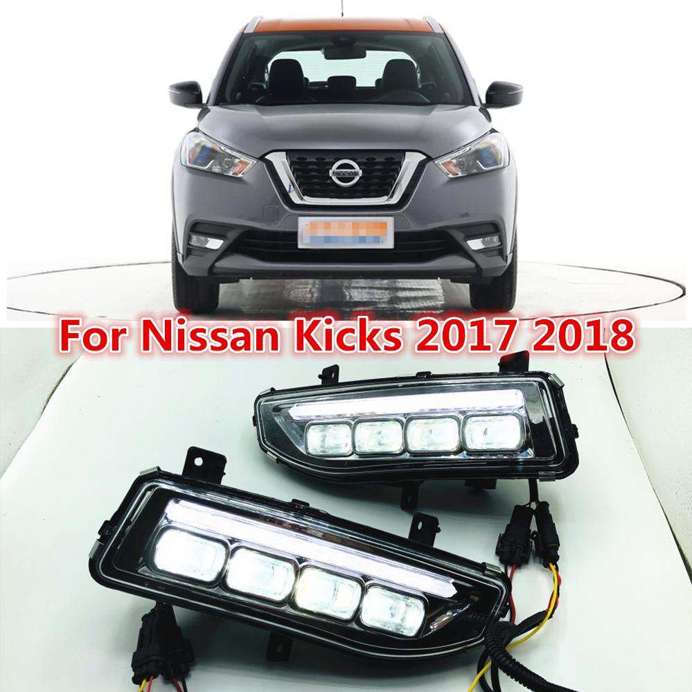 2019 One Sets Turn Signal Style Relay 12v Led Car Drl Daytime