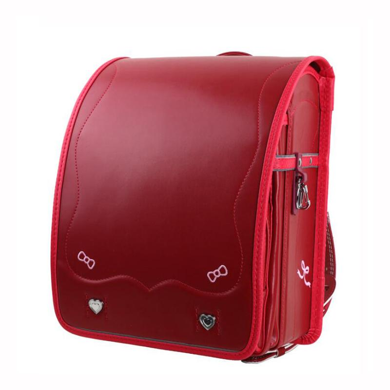2019 NEW Embroidered Bow Women Backpack PU School Bags for Girls ... f48028a6851b9