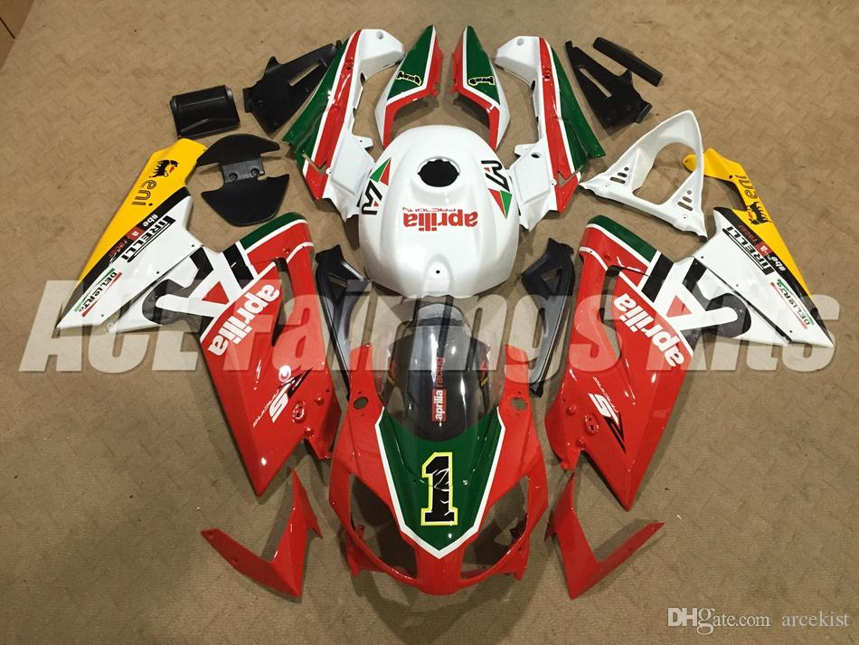 New Injection ABS motorcycle bike Full fairing kits for aprillia RS125 2006-2011 Fairings RS 125 06 07 08 09 10 11 RS4 bodywork FR