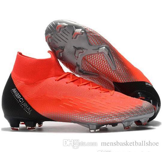 Nuevos Élite Cristiano Para Zapatos Superfly Neymar Mercurial Kj De Scarpe Vi Fg Botas Cr7 Fútbol Calcio Hombre Ronaldo L35j4AqR