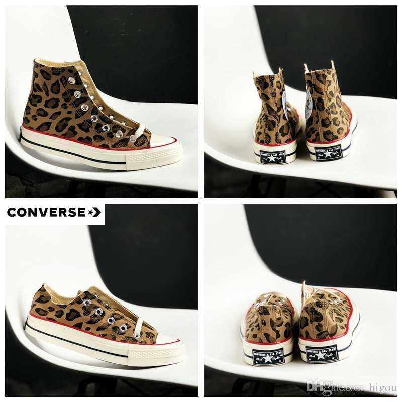 231f5f3f0b7 2019Canvas Converse Shoes All 1970s Star Leopard Print Chaussures Men Women  Running Shoes Sneakers 36-44 Online with  119.77 Pair on Fengzhigu4 s Store  ...