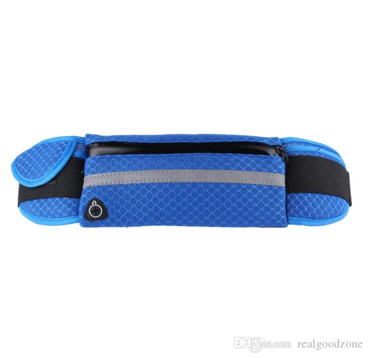 Marathon Jogging Cycling Running Hydration Belt Waist Bag Pouch Fanny Pack Phone Holder For Water Bottle