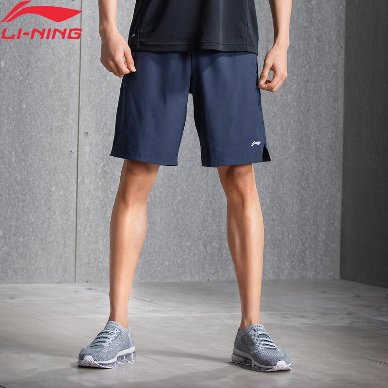 Men Training Shorts Gym Polyester Comfort Fitness AT DRY Brearthable Lining Sports Sweat Shorts AKSN079 MKY359