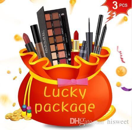 Cadeau Chanceux De Bien être Pour La Journée De La Femme Complet Professionnel Maquillage Set Nail Art Vente Chaude Maquillage Maquillage Kit