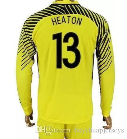 finest selection 929a0 0ef76 Cheap Long Sleeve football Jerseys Sets World Cup High quality Football  Shirt Kits Uniform Red White black green yellow outlet