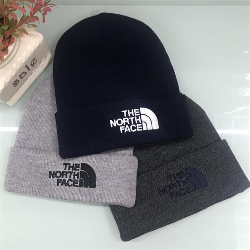 939384ecf71 Brand NF Mens Winter Knit Hats Teenager Boys Hip Hop Beanies The North  Knitting Face Outdoor Crochet Hats Embroidery Warm Skull Caps New UK 2019  From ...