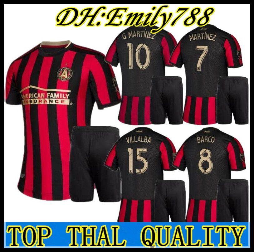 228c1ea434566 Compre Homens Kit 2019 2020 MLS Atlanta United FC Camisa De Futebol 19 20  Camisas De Futebol GARZA JONES VILLALBA MCCANN MARTINEZ ALMIRON De  Emily788