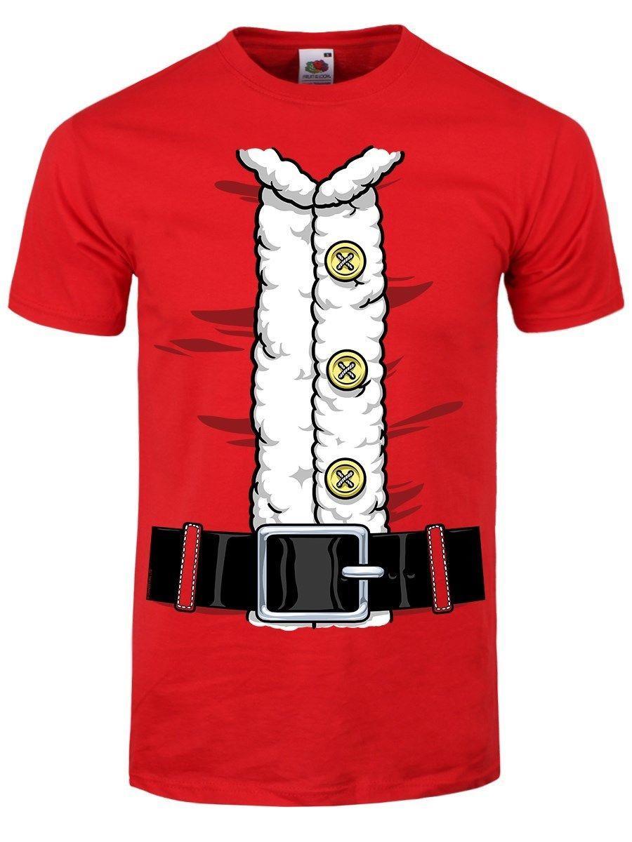 8ff6fb3df7ac Santa Suit Christmas Men S Red T Shirt Good Quality Brand Cotton Shirt  Summer Style Cool Shirts Comical Shirt Men S Funny T Shirts Mens Shirts  From ...