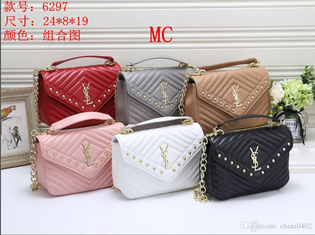 9d393c569f3 2019 new package YSL Women's summer chain small square bag Shoulder Bags  Fashion style Casual messenger bag