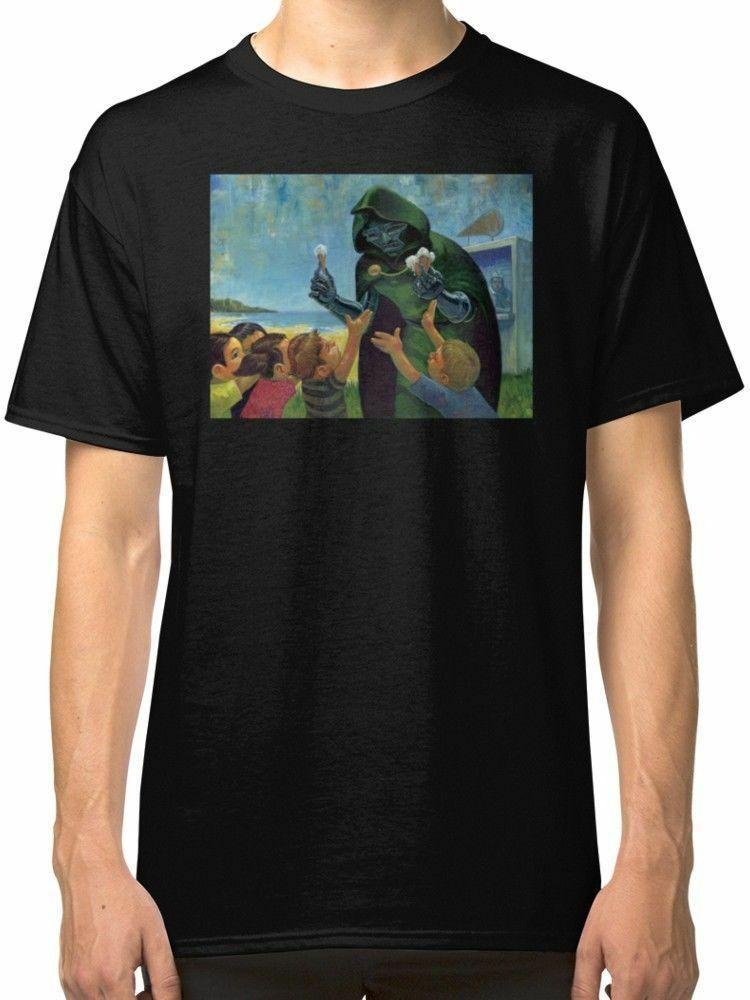 New MF DOOM Men s T-shirt size S-2XLFunny free shipping Unisex Casual  Tshirt top