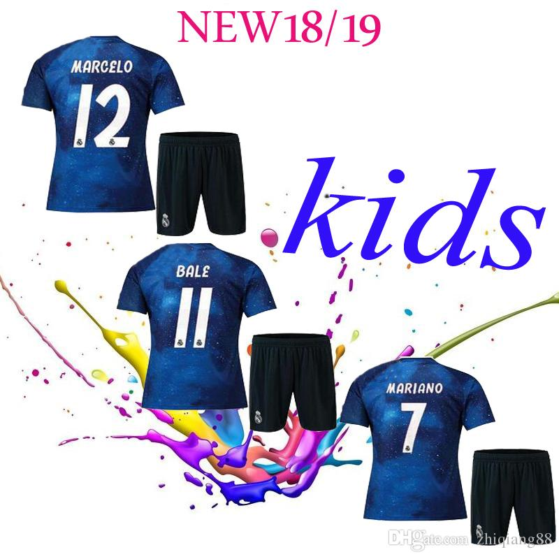 best service d2de8 0db2f 2018 2019 Kids Real Madrid A limited edition Football Jersey 2018/19  Jerseys ISCO ASENSIO BALE KROOS Child Shirts