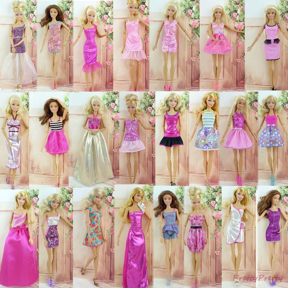 47465629b27a8 Acheter En Gros   Robe De Mariage Princesse Robe Mixte Style Jupe Vêtements  Pour Poupée Barbie Cadeau Bébé Jouet Meilleur Cadeau De Noël De  155.98 Du  ...
