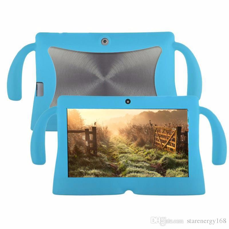 168 Kids Soft Silicone Rubber Gel Case Cover For Q88 A13 A23 A33 Q8 Android Tablet PC