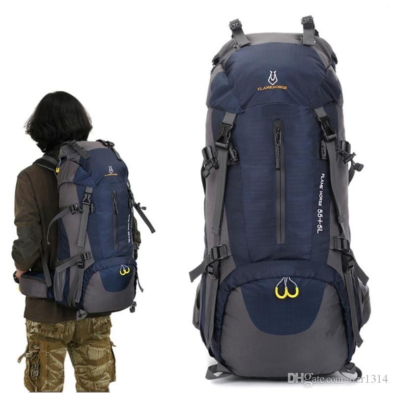 7e307815c29e Outdoor Travel Large Capacity Multifunctional Travel Bag Mountaineering  Sports Backpack Sports Bag Trekking Backpack Hiking Backpack Mountaineering  Travel ...