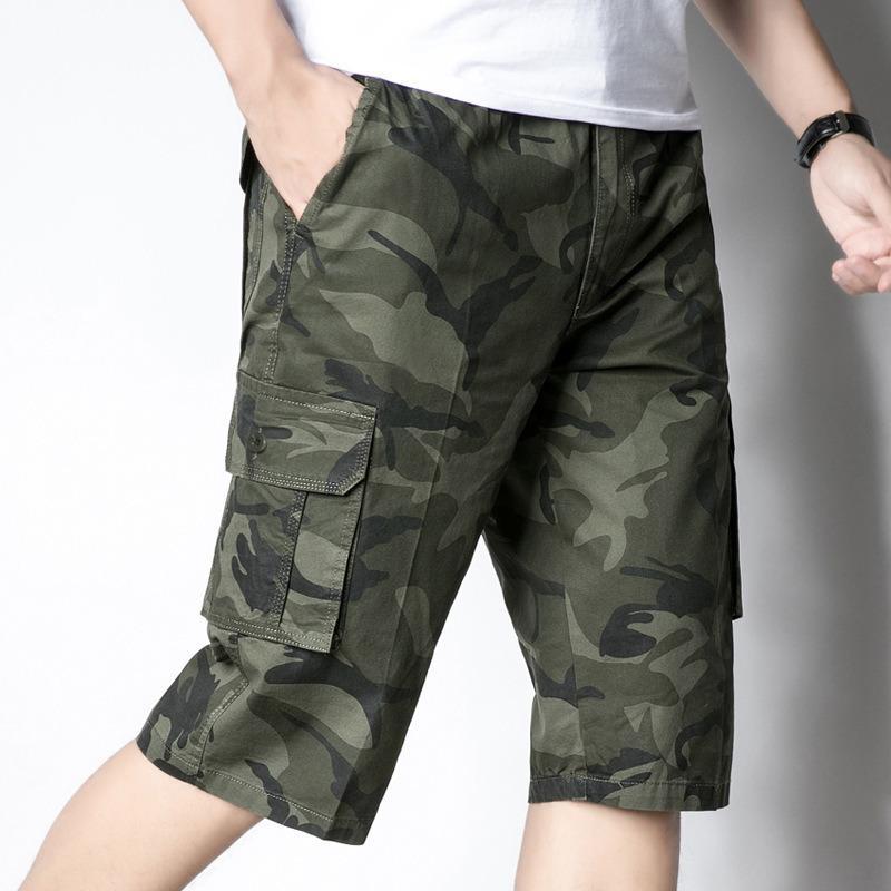 39f2972e99 Compre Camuflaje Pantalones De Camuflaje Moda Para Hombre Bermudas  Masculina Pantalones Cortos De Trabajo Para Hombre Hombre Ejército Militar  Pantalones ...