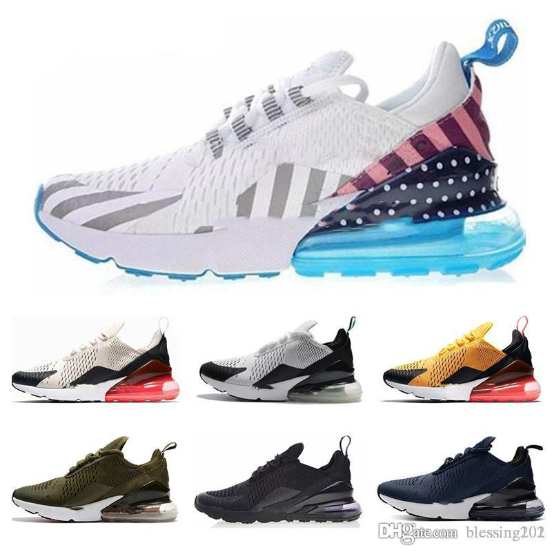 nike air max 270 27c airmax Championne du monde 2018 France Sneakers two 2 stars Limited Edition Triple mens Trainer Chaussures de course 36 45