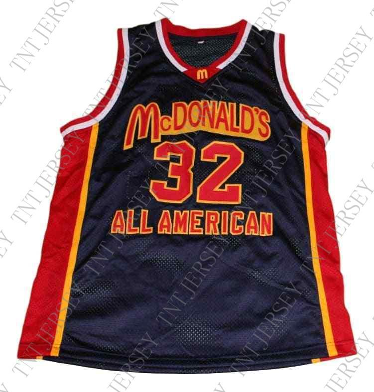 b64982e5ac1e 2019 Wholesale Lebron James  32 McDonalds All American Basketball Jersey  Black Stitched Custom Any Number Name MEN WOMEN YOUTH BASKETBALL JERSEYS  From ...