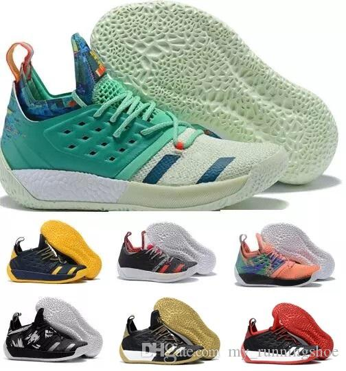fa8fa92b2998 2019 NEW Harden Vol 2 LS MVP Shoes For Sale Top Quality James Harden  Basketball Shoe Store Size 40 46 From My runningshoe