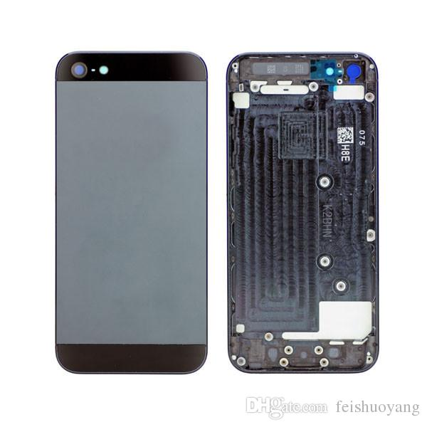 release date: 5b103 a0e22 for iphone 5s 5g back cover housing cell phone battery door cover  replacement full housing mobile phone panel DHL free shipping