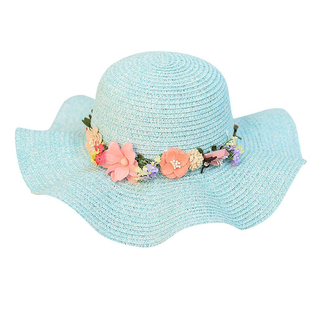 Compre Moda 2019 Verano Nuevas Mujeres Playa Sombrero De Paja Sombrilla De  Jazz Panamá Trilby Fedora Hat Corona Corona De Regalo De Alta Calidad A   36.66 ... c55a193fb307