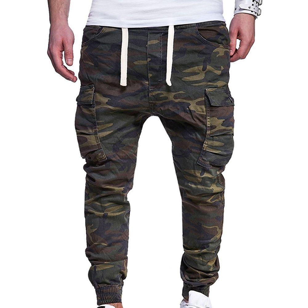 Compre De Gran Tamaño 4xl Hombre Moda 2019 Pantalones Hombres Pantalones De  Bolsillo Ropa Deportiva De Hombre Ropa De Hombre Fashions Distressed  Pantalón A ... f3ea0dc6013