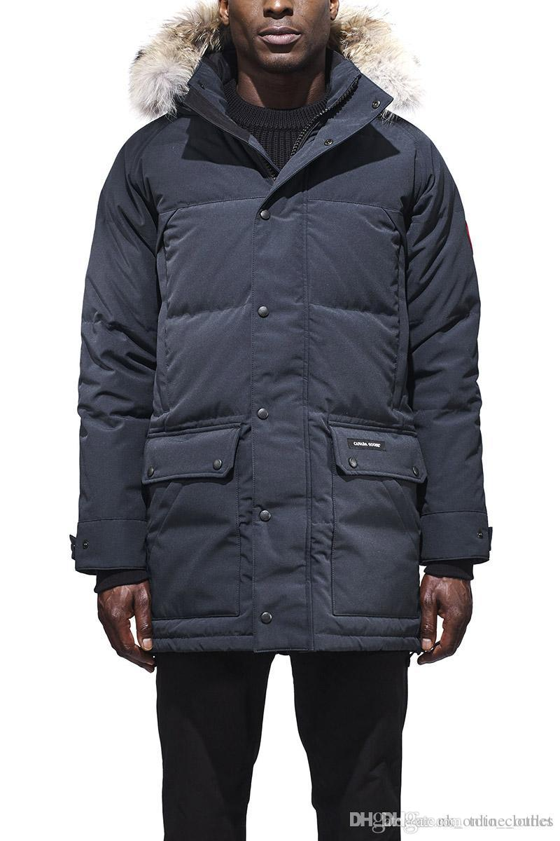 Best Down Jackets 2020 2019 2020 Canada Men Goose Emory Parka More Than 90% White Goose