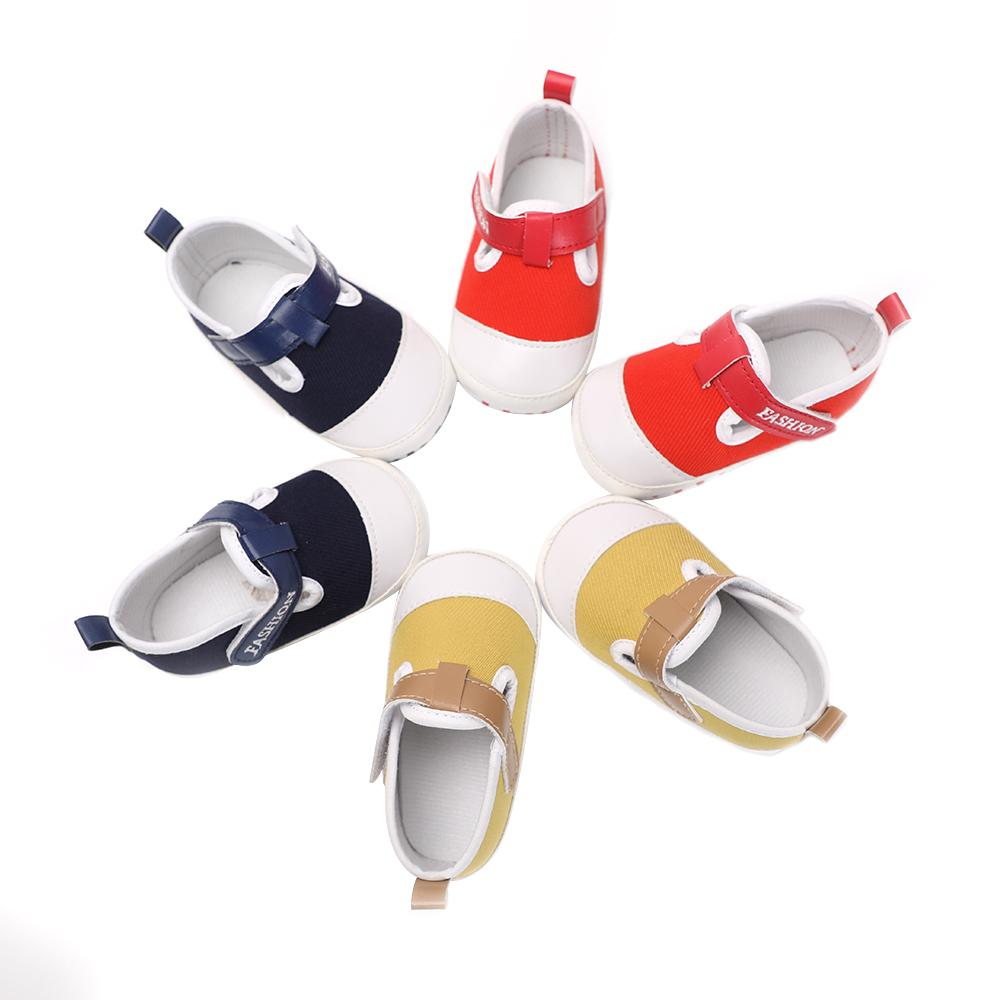 47cd7c8182d02 Infant Baby Soft Anti-slip Soled Bottom Toddler Casual Loafers ...