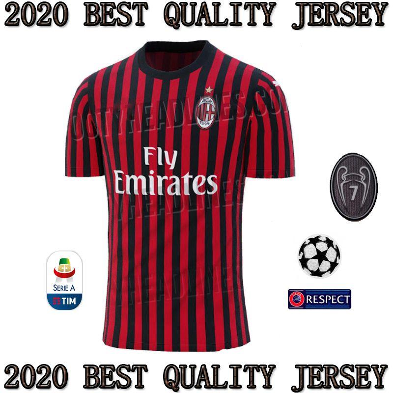 306d90b7007 Milan AC home 20192020 PLAYERAS DE FUTBOL SOCCER