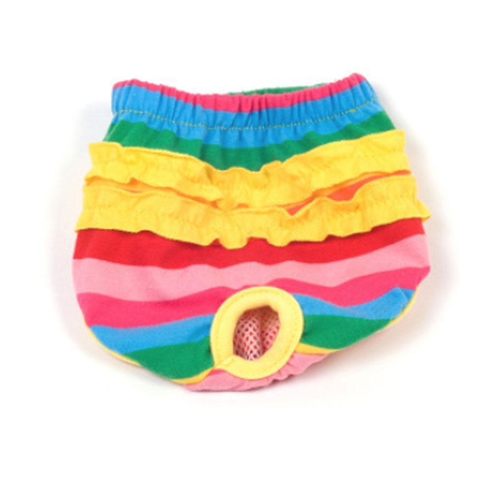 Moda Sólidos roupa interior feminina Pet Dog filhote de cachorro animal calças Sanitária Shorts Calcinhas Fralda Fralda