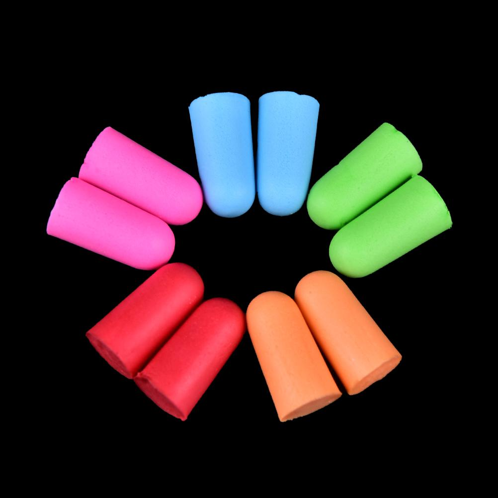 Ear Protector 100% Quality Comfort Earplugs Noise Reduction Foam Soft Ear Plugs Box-packed Earplugs Protective For Sleep Slow Rebound Earplugs