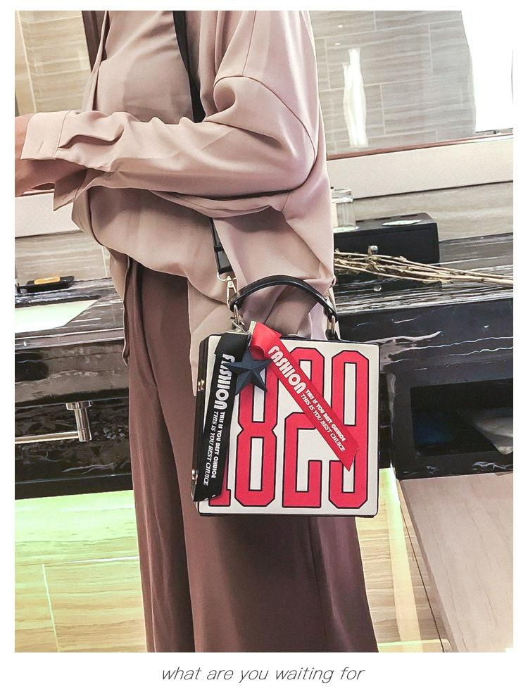 2018 New European And American Style Fashion 1829 Small Box Soft Handle  Handbag Shoulder Tide Handbag Ladies Handbags Leather Handbags From Ye1993,  ... 09166291cc